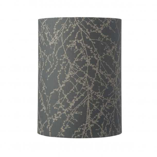 Futura Table Lamp Clear Platinum and Shade