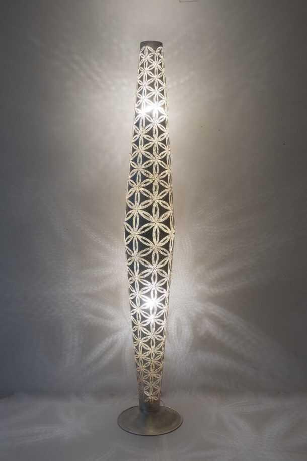 Babylon Wisdom Floorlamp Silver