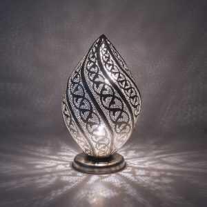 Twist Filigrain Lamp Silver