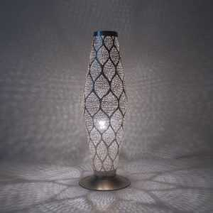 Babylon Moorish Lamp Silver