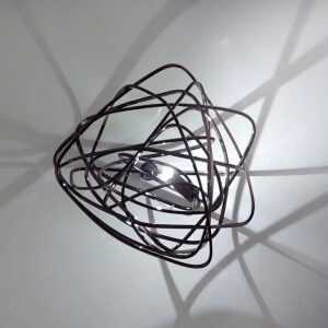 Doodle Wall Light Black Amethyst