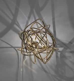 Doodle Wall Light Gold Plated