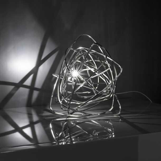Doodle Table Lamp Nickel
