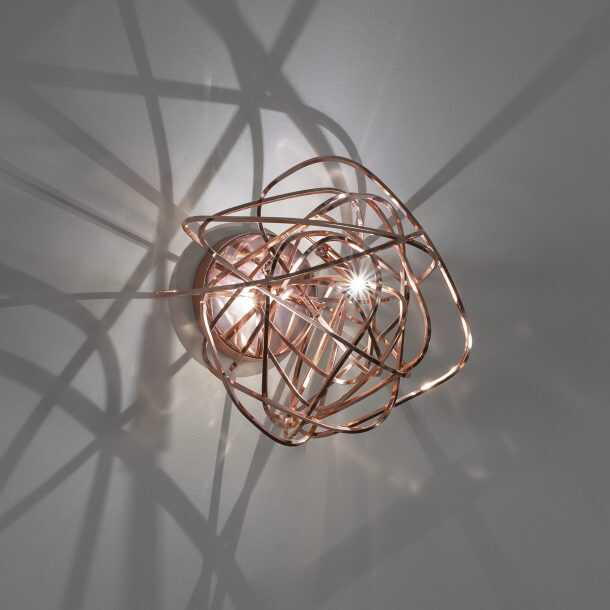Doodle Wall Light Copper