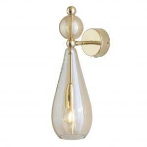 Smykke Wall Light Golden Smoke