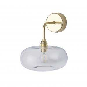 Horizon Wall Light Clear Gold