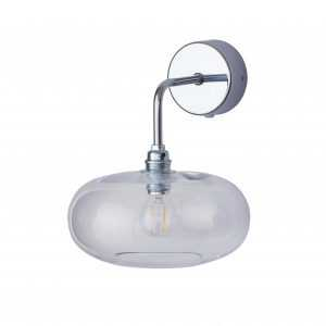 Horizon Wall Light Clear Silver