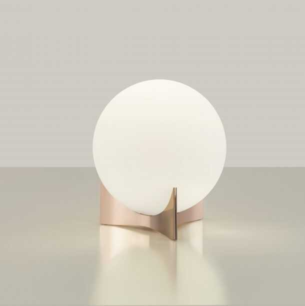 Oscar Lamp Rose Gold
