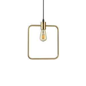 ABC Square Pendant