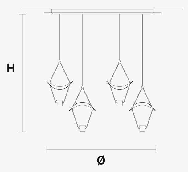 Vollee 4P CR Technical Drawing